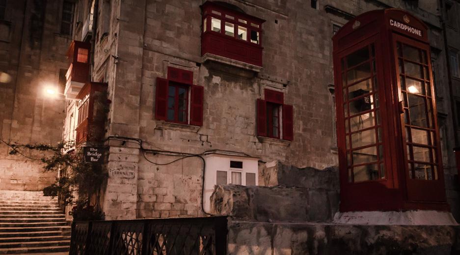 Most Romantic Places in Malta - Bridge Bar