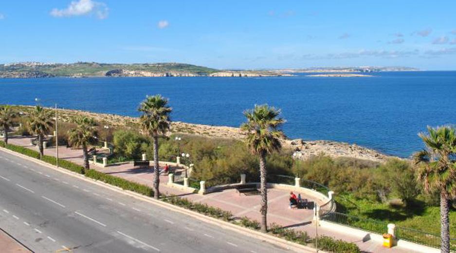 Most Romantic Places in Malta - Qawra Promenade