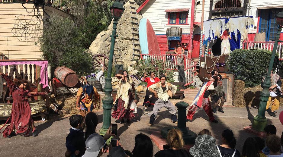 Popeye's Village Halloween
