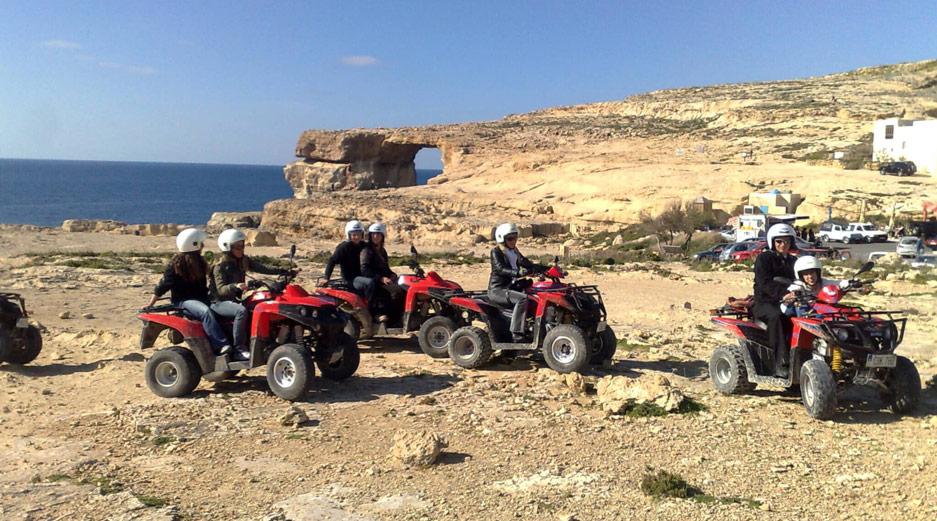 Malta adventure activities - Quad Bikes, Gozo