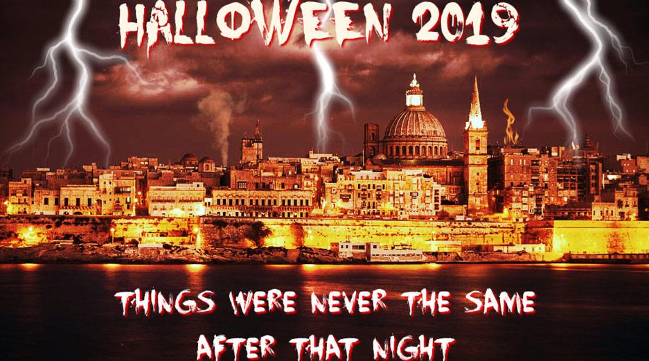 Valletta Tour Halloween