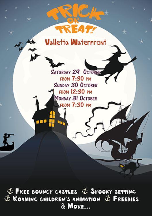 Valletta Waterfront Halloween