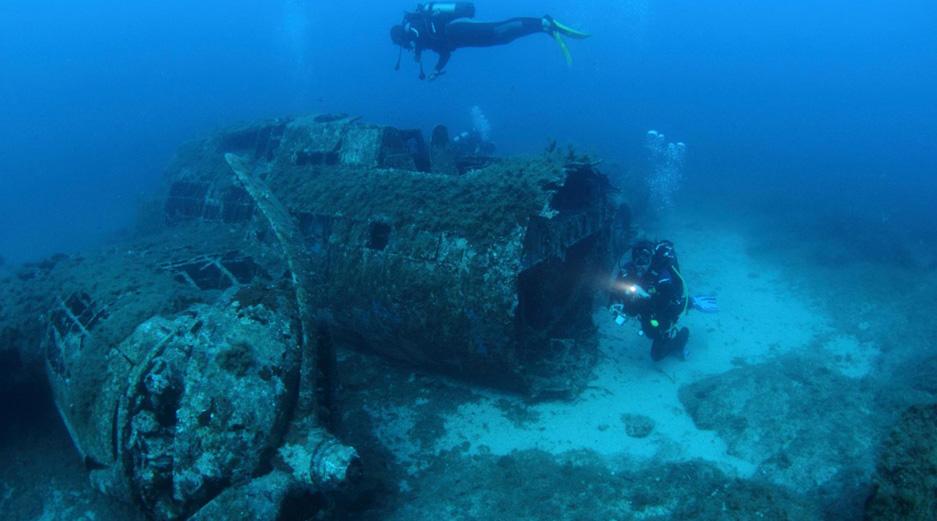 Malta adventure activities - Imperial Wreck, Qawra