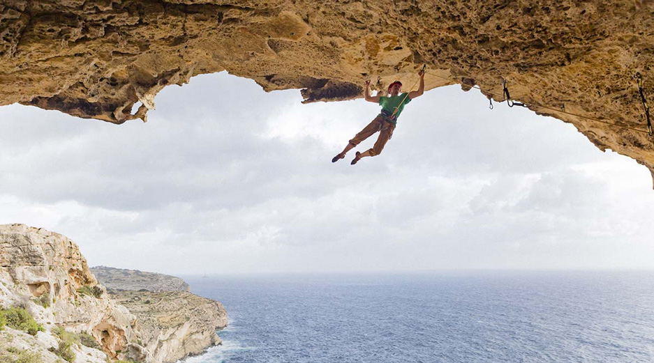 Malta adventure activities - Rock Climbing